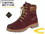 camel active Canberra 874.70-14 bordo Nubuk Oil Velvet Cow GTX
