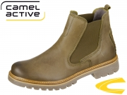 camel active Canberra 873.72-01 olive Soft Cracy Horse
