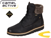 camel active Ice GTX 876.70-11 black Milled Oil Nubuk Lamb
