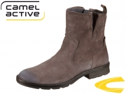 camel active Aged 871.71-01 dk grey Goat Suede