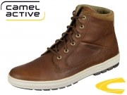 camel active Laponia 443.11-03 brandy Tumbled Pull Up Suede