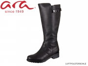 ARA Kan ST. 12-48818-66 schwarz Glovecalf, Sivato