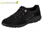 Waldläufer Havy Soft H89001 203 001 schwarz Velour Gabystretch