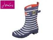 Tom Joule Molly Welly Molly Welly navy Stripe Rubber