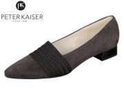 Peter Kaiser Lagos 22815-992 carbon gz Zopf schwarz Suede