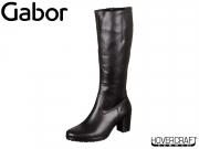 Gabor 75.548-27 schwarz Foulardcalf Micro