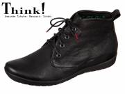 Think! Keshuel 81052-00 schwarz Nappa Washed Veg