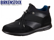 Birkenstock Ames 1007361 black Velour Natural Leather