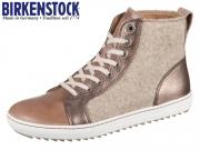 Birkenstock Bartlett 1007209 dark brown Natural Leather Felt