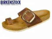 Birkenstock Miramar 1006528 cognac Natural Leather