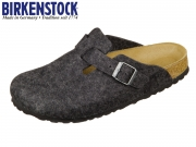 Birkenstock Boston 160373 anthracite Felt