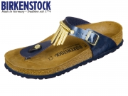 Birkenstock Gizeh Fringe 1006386 sea graceful Graceful Fringe Birkoflor