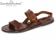 The sandals factory 6185 brown Leather