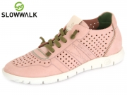 Slowwalk Morvi-W 10360W pi pink Nobuck Leather