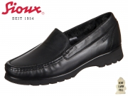Sioux Pancratia-LF-XL 61420 schwarz Glovetouch-Nappa Lammfellfutter