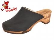 Woody Katharina 8418 sc schwarz Fettleder