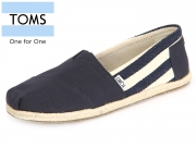 TOMS Classic 10005419 navy University