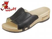 Woody Anna 303 sc schwarz Leder
