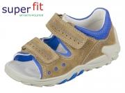 SuperFit FLOW 2-00030-41 beige kombi Velour Textil