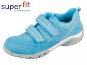 SuperFit Sport4 2-00224-91 türkis kombi Velour Tecno Textil