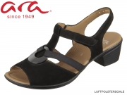 ARA Lugano 12-35715-01 schwarz Nubuk