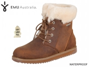 EMU Australia Shoreline Leather Lo W11588 oak Waterproof Suede