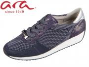ARA Fusion4 12-34027-08 blau grau Wovenstretch