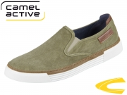 camel active Racket 460.16.03 army washed canvas