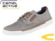 camel active Racket 460.14.01 grey Washed Canvas