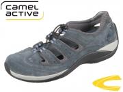 camel active Moonlight 462.12.30 navy grey Oil Suede Mesh