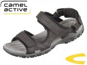 camel active Ocean 422.11.11 mocca black Nappa PU Mesh