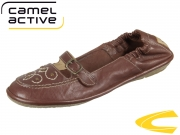 camel active Soft 883.72.02 cognac Wrinkled Sheep
