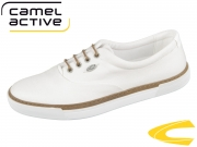 camel active Racket 842.74.01 off-white washed canvas