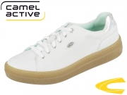 camel active Top 849.81.02 white silver Velvet Cow