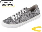 camel active Beat 878.70.05 grey printed canvas