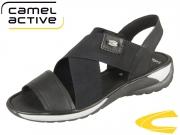 camel active Moonlight 884.72.01 black velvet Cow Elastic