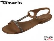 Tamaris 1-28042-20-305 cognac Leder