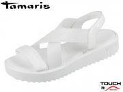 Tamaris 1-28219-20-100 white Leder