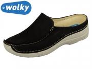 Wolky Seamy Slide 0625010070 black summer Mistique Nubuk