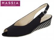 Hassia Como 5-313205-0100 schwarz Stretch