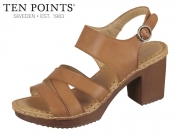 Ten Points Amelia 515013-319 cognac Leather