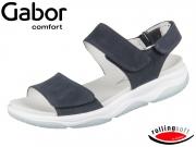 Gabor Rolling Soft 86.929-46 nightblue Nubuk