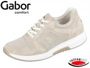 Gabor Rolling Soft 86.946-12 beige silber Effekt Metallic HT Velour