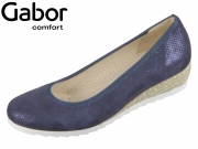 Gabor Genua 82.641-26 nightblue Silk Metallic Jute