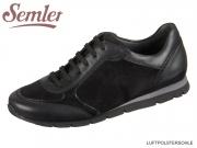 Semler ROSA R5133-575-001 schwarz Soft-Nappa Samtchevrau