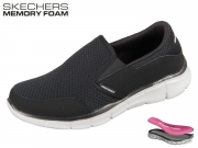 Skechers Equalizer 51361-BKW black-white Persistent
