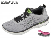 Skechers Flex Advantage 52185-LGBK light gray-black The Happs
