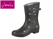 Tom Joule Molly Welly MollyWelly black pop spot Rubber