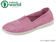 natural world 615E-603 rosa Baumwolle organic cotton