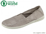 natural world 615E-670 gris claro taupe Baumwolle organic cotton